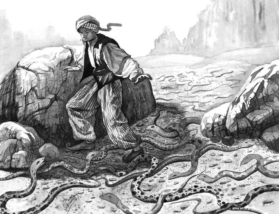 Voyages of Sindbad P.16